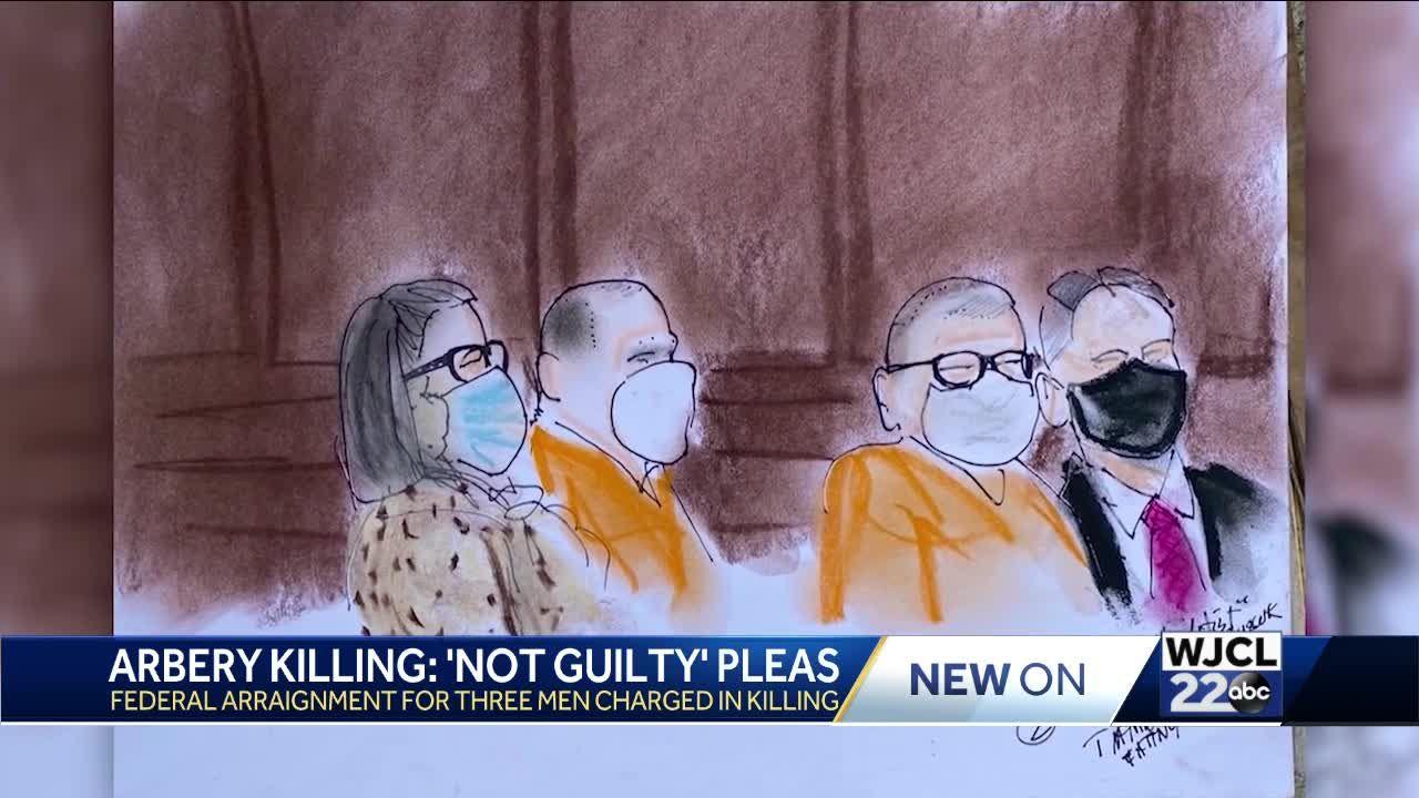 Arbery Killing: 'Not Guilty' Pleas