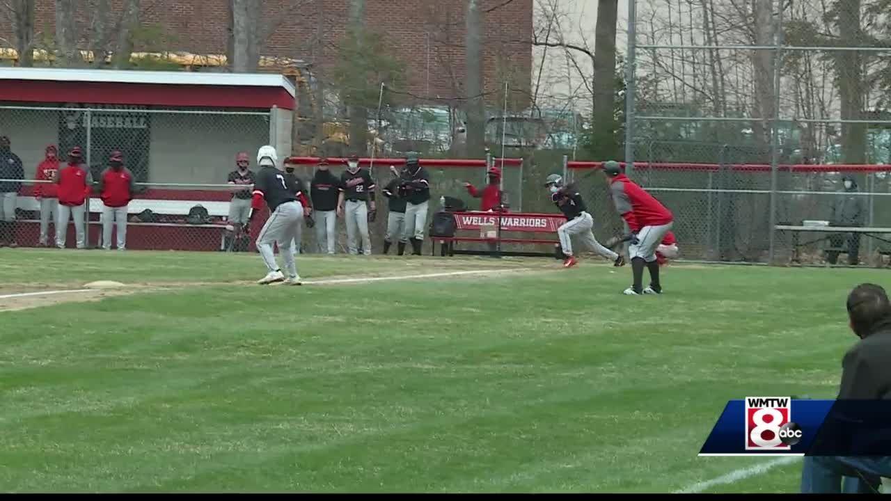 Wells baseball team wins opener