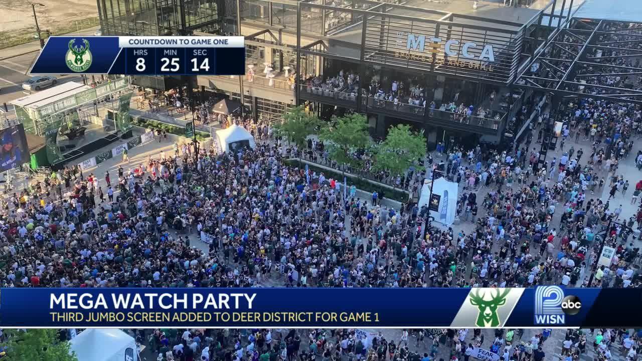 Bucks plan mega watch party in Deer District