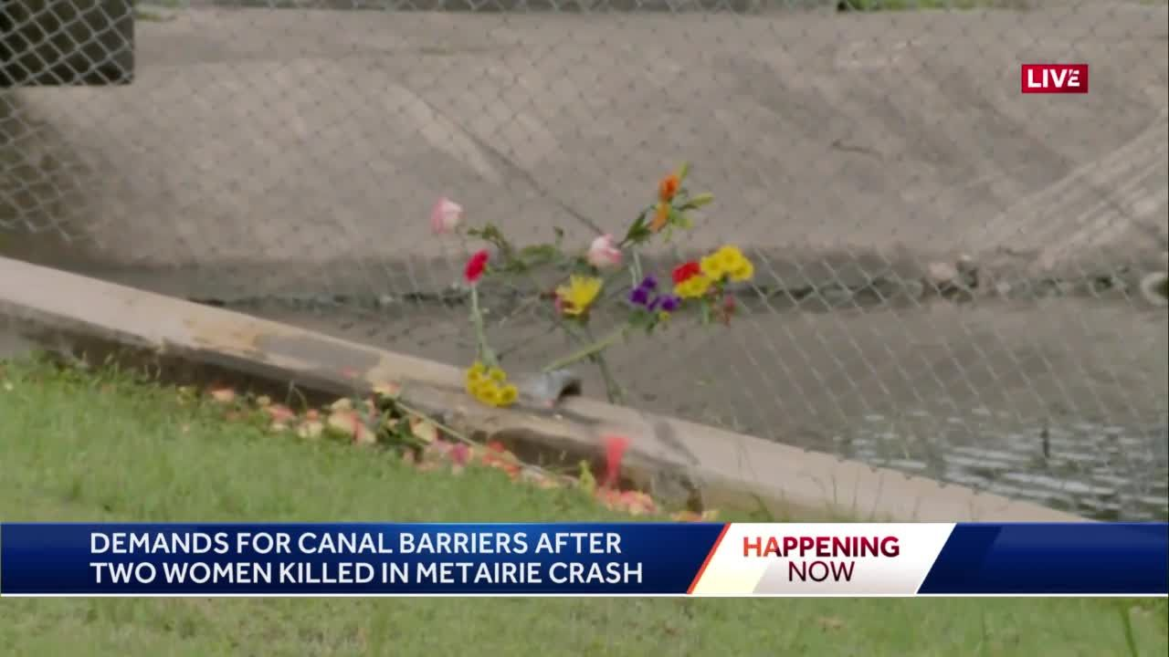 JP coroner identifies two killed after vehicle crashes into Metairie canal