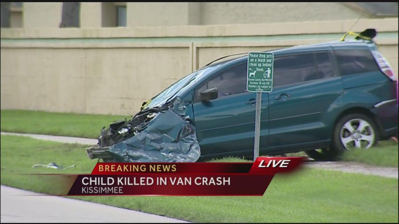child, 13, dies in crash near kissimmee