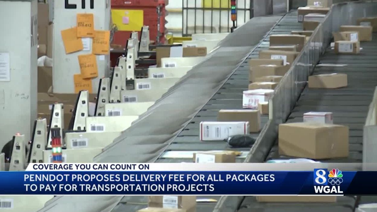Pennsylvania considers package delivery fee to fund transportation projects