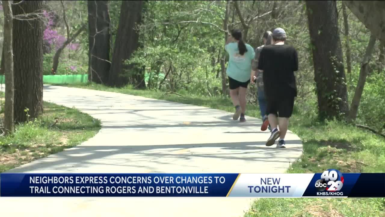 Some Rogers residents upset with new road plan