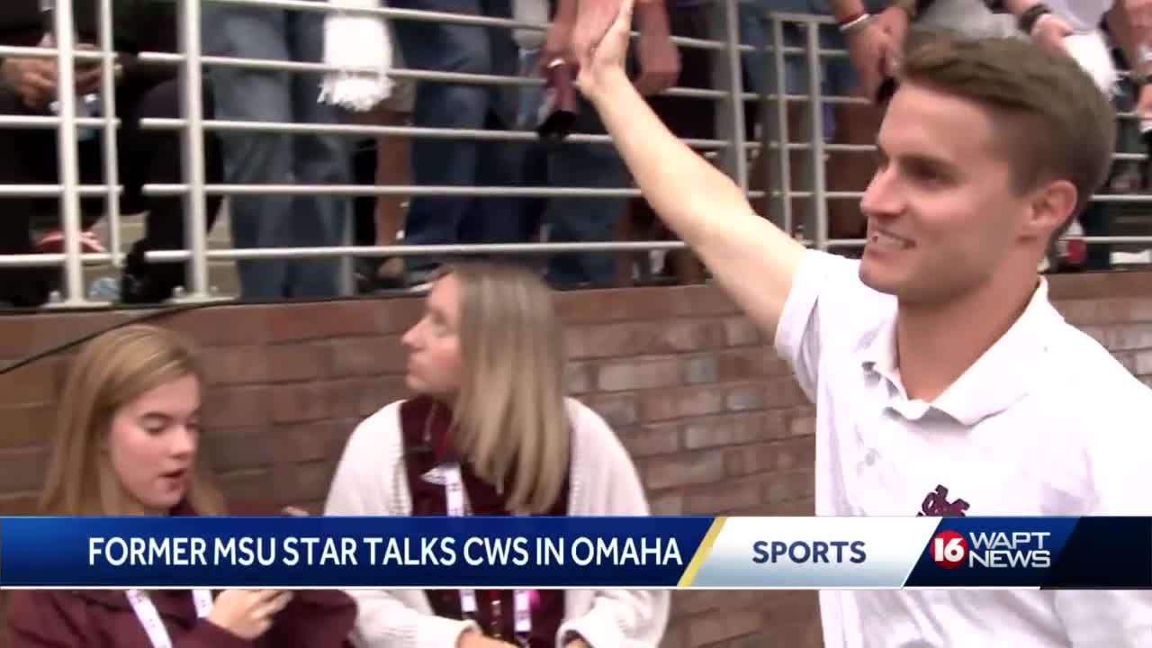 Former MSU star Jake Mangum says it's the Bulldogs time in Omaha