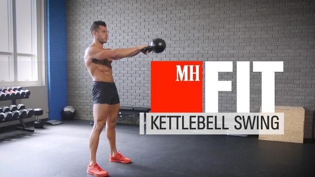 The Right Way to Do a Kettlebell Swing