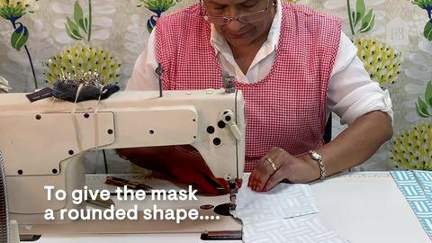 How To Make Fabric Face Masks Without Using Elastic During Coronavirus