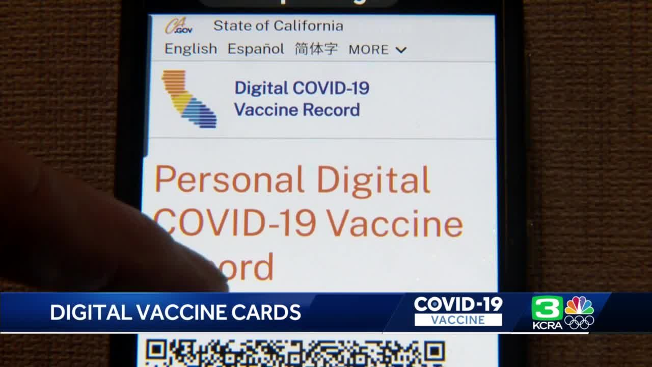 Californians can now access their COVID-19 vaccine records online
