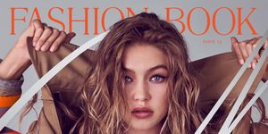 Gigi Hadid for CR Fashion Book