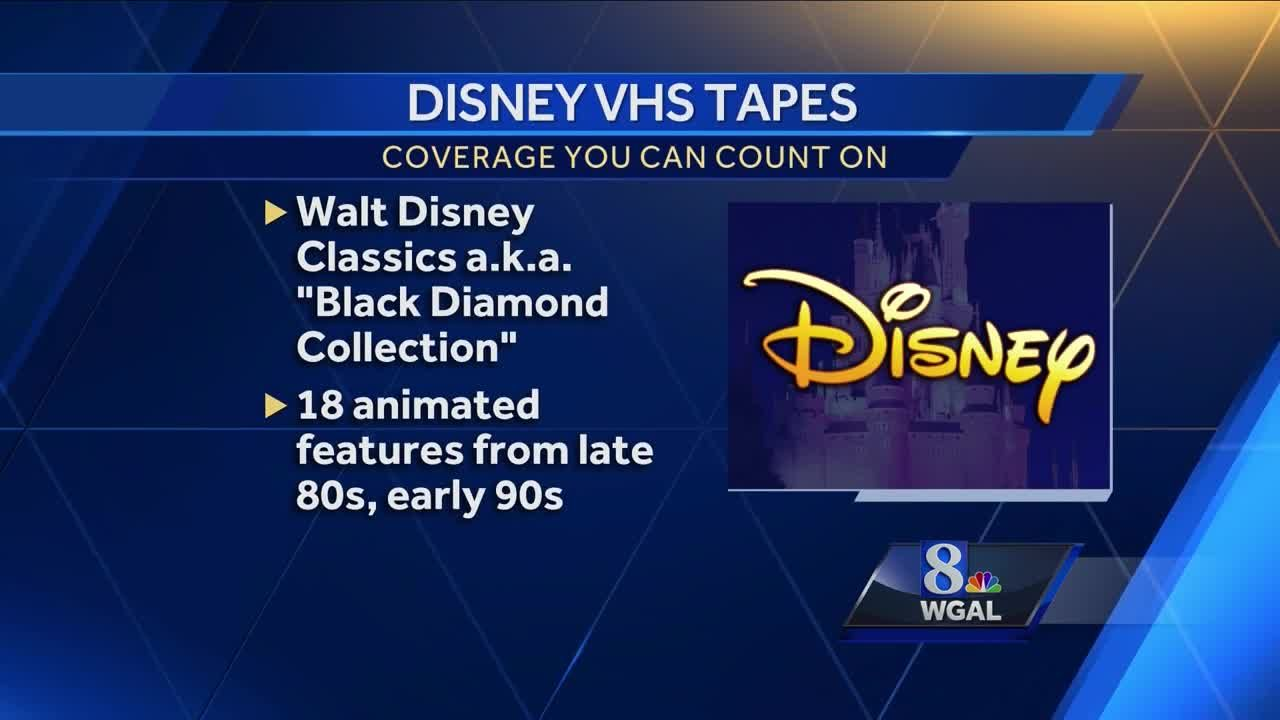 Are Your Old Disney Vhs Tapes Worth Money