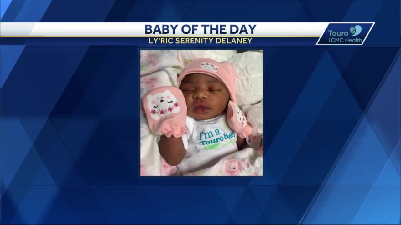 WDSU Baby of the Day for April 16, 2021