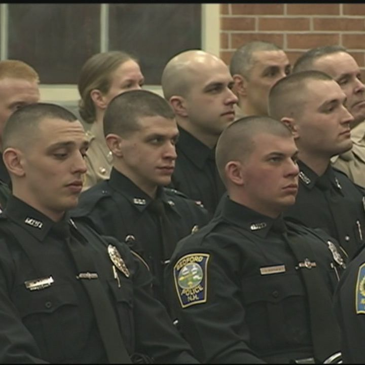 New officers graduate from police academy