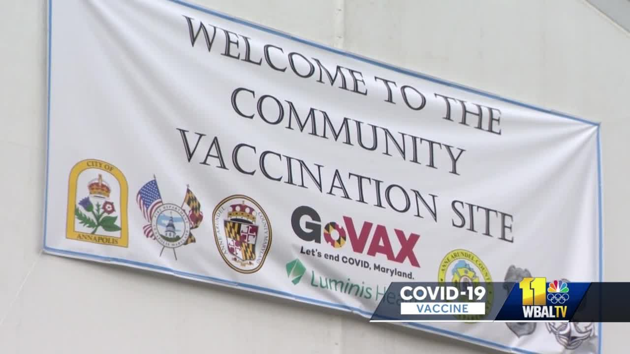 500 COVID-19 shots given at Navy stadium mass vaccination site