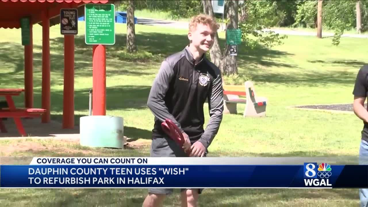 Dauphin County teen uses wish to refurbish park