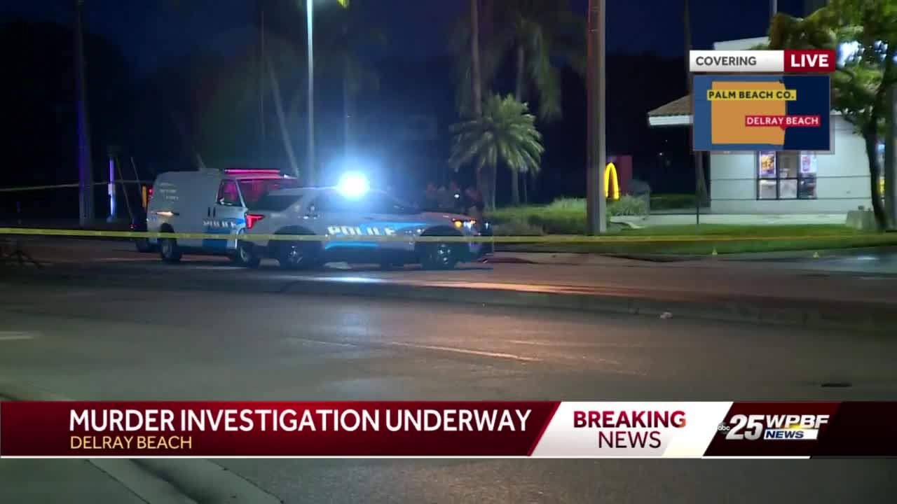 Delray Beach investigating murder outside McDonald's