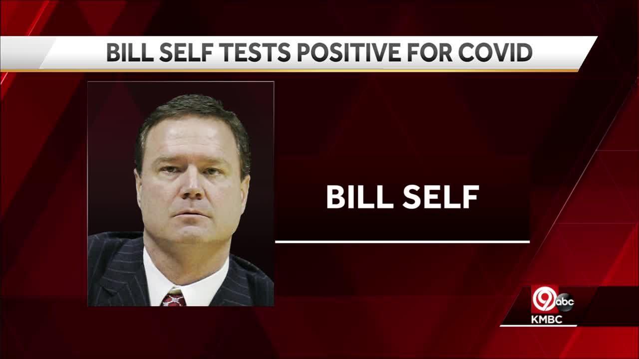 KU's Bill Self tests positive for COVID-19