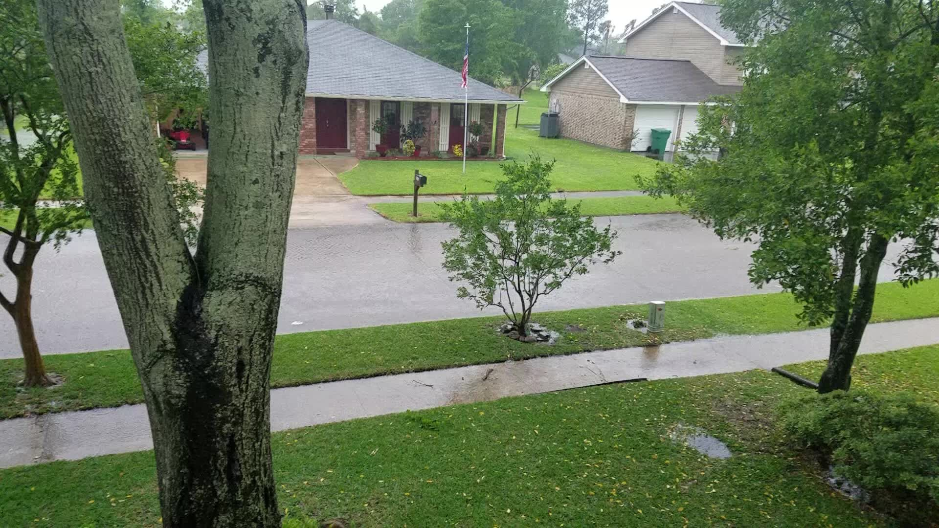 VIDEO: Street flooding reported in Laplace