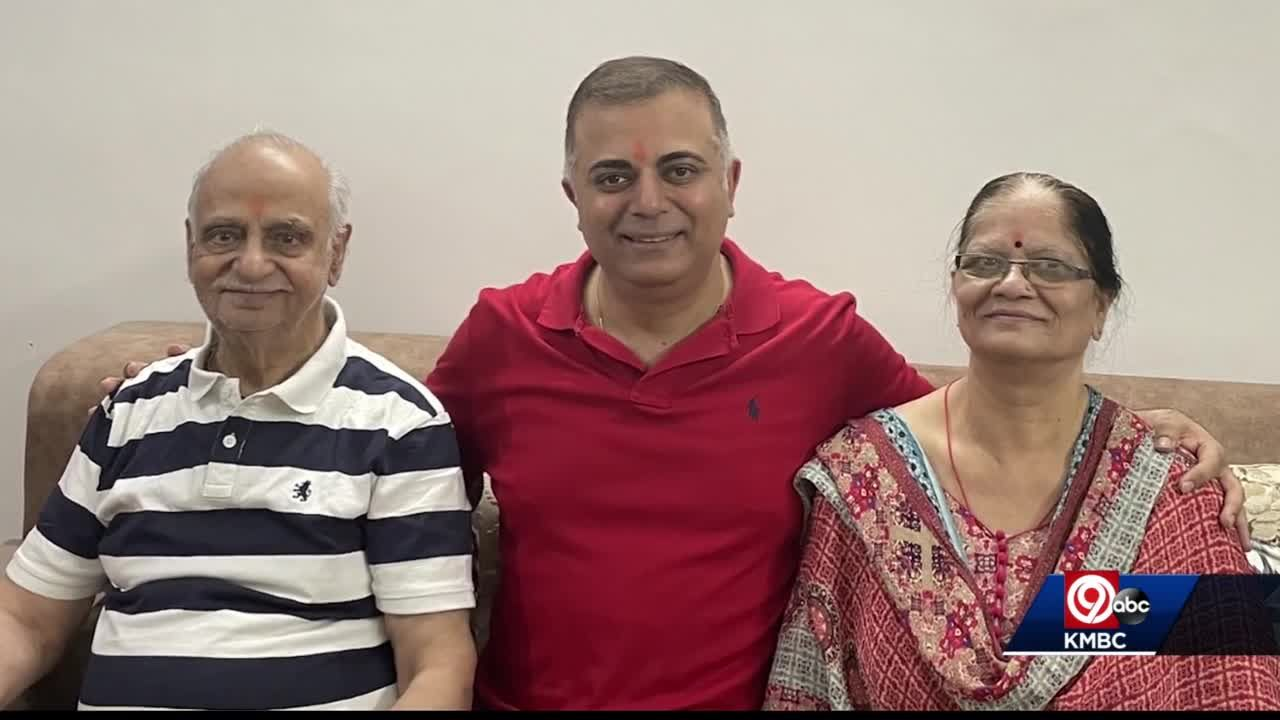 KC man returns from India after checking on family