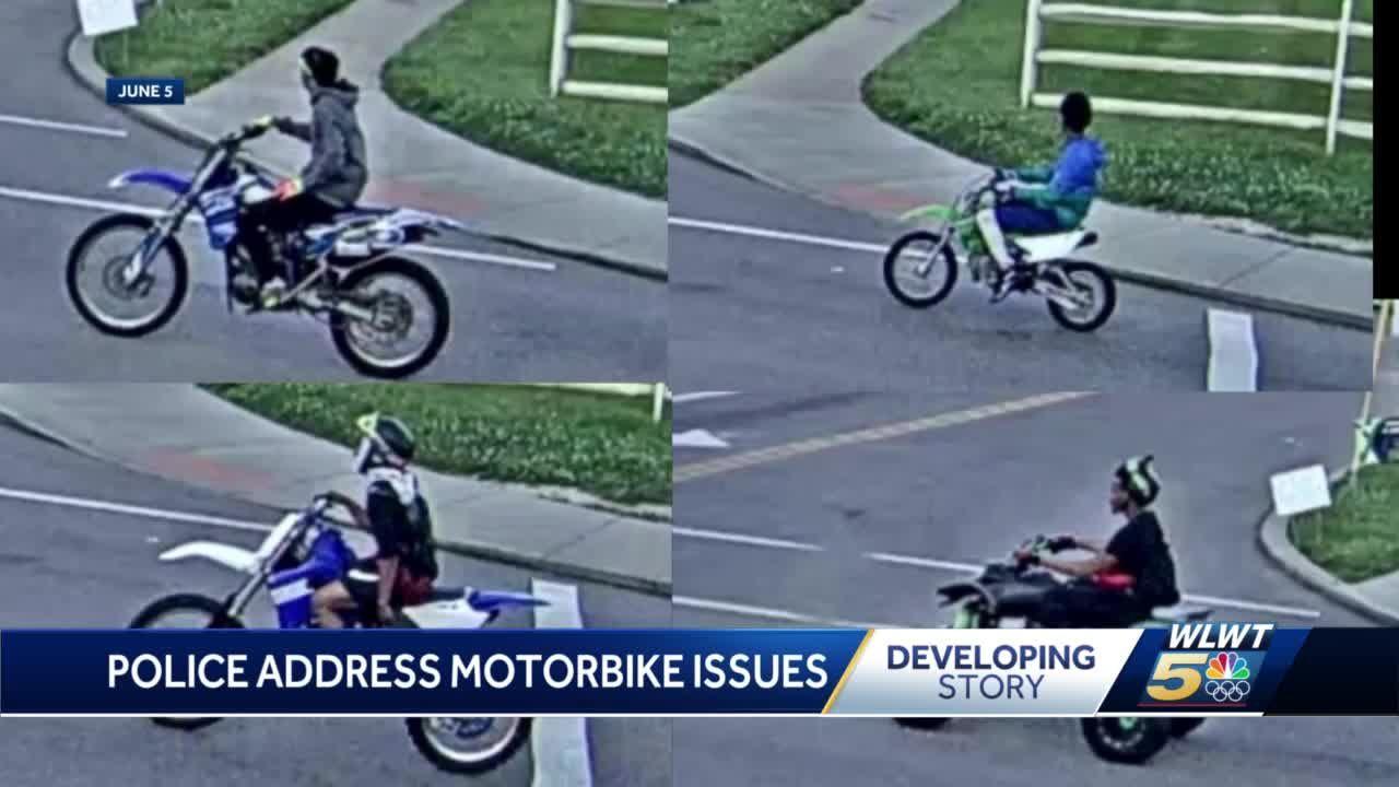Cincinnati police warning ATV, motorbike riders they are tracking and arresting illegal street riders