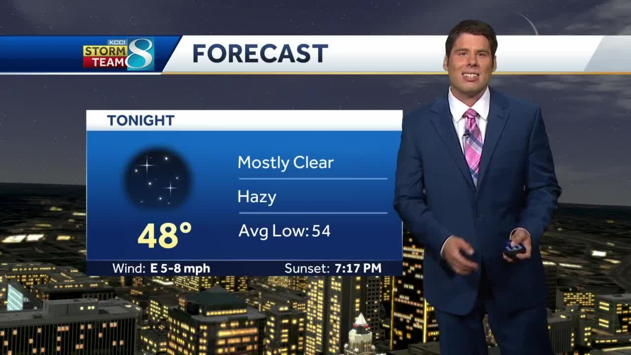 Cool, quiet weather perfect for Football Friday Night