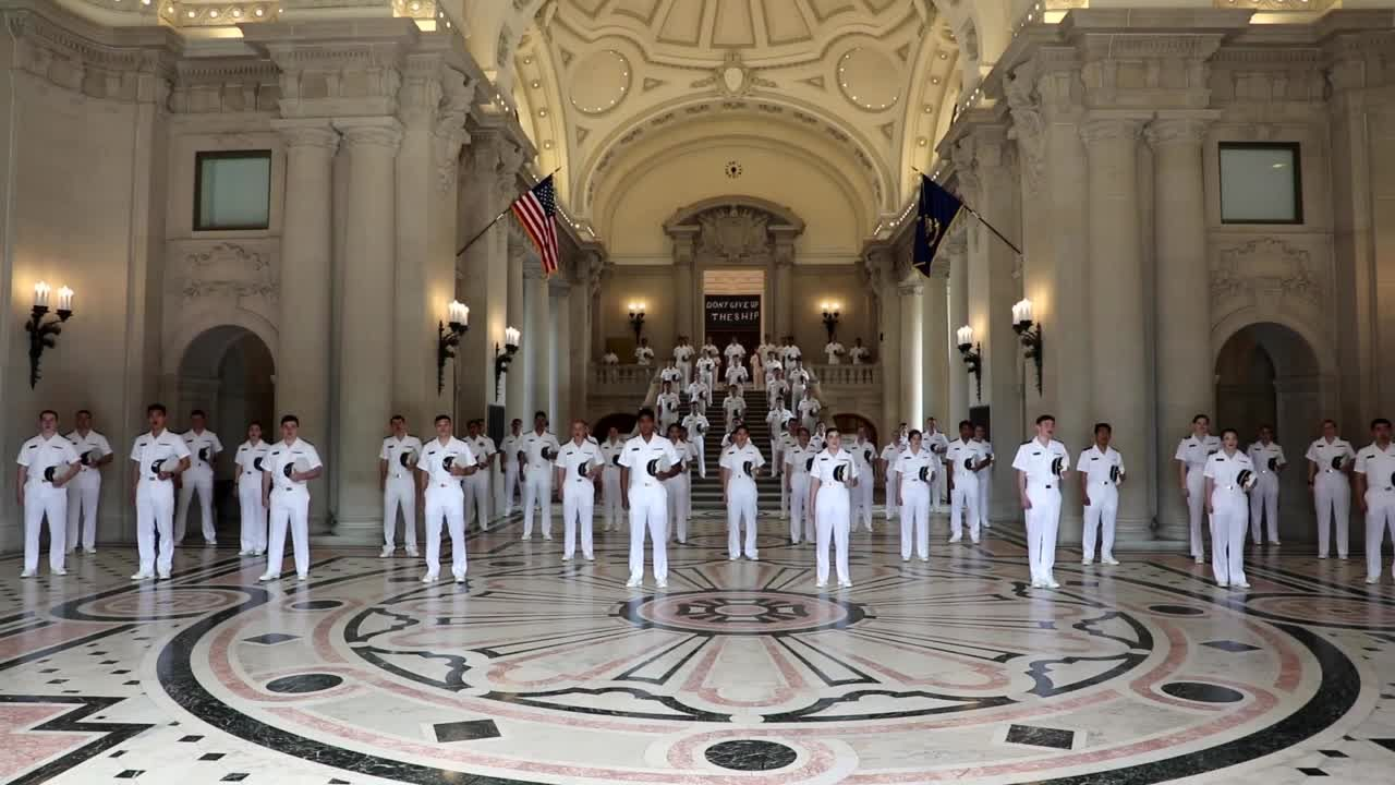 USNA Glee Club performs message of hope, comfort