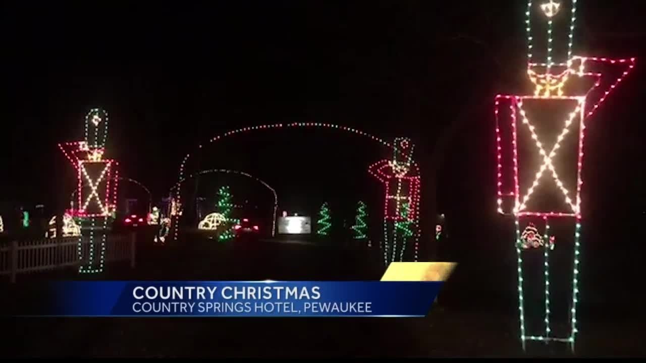 wes elizabeths weekend pick country christmas - Country Springs Christmas Lights