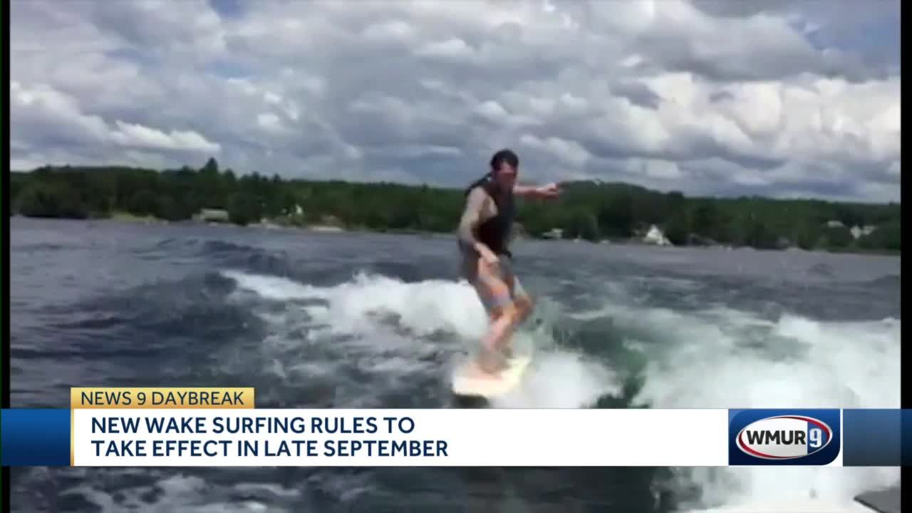 New wakesurfing rules to take effect in September