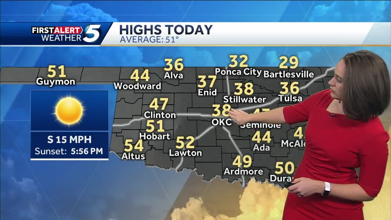 Forecast: Cold day ahead