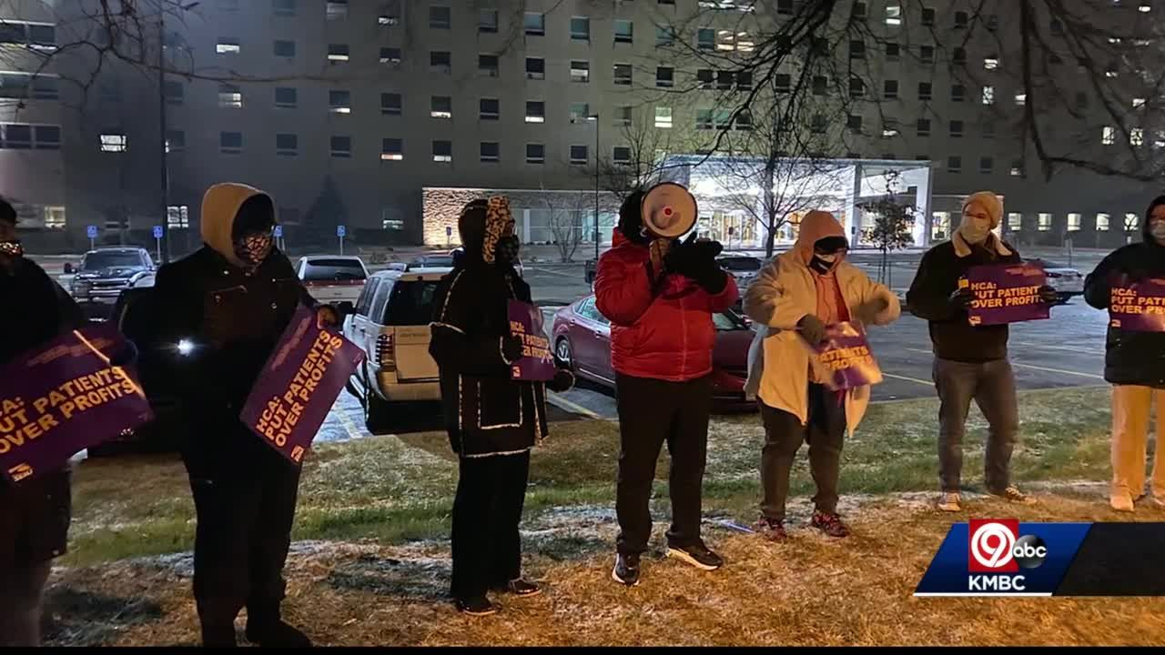 Some Kansas City hospital workers want to see $15 minimum wage