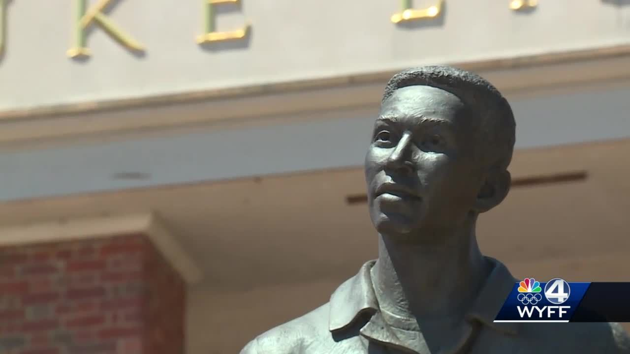 Furman unveils statue memorializing first African American student