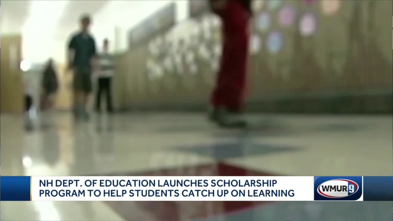 NH Dept. of Education launches scholarship program to help students catch up on learning