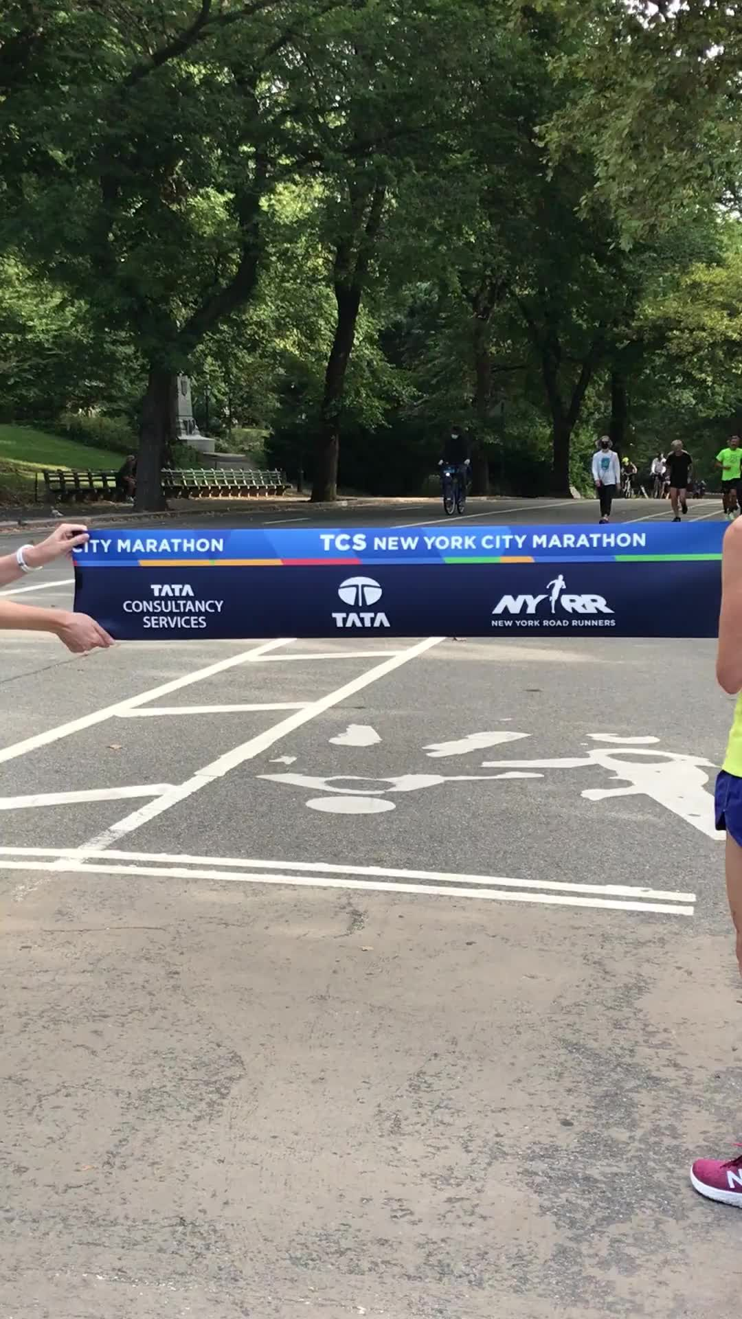 First-Ever NYC Marathon Champ Runs a Lap on the Original Course 50 Years Later