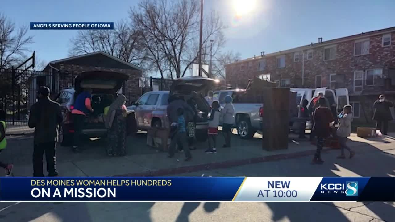 WDM organization provides food, clothing, furniture for hundreds from a garage