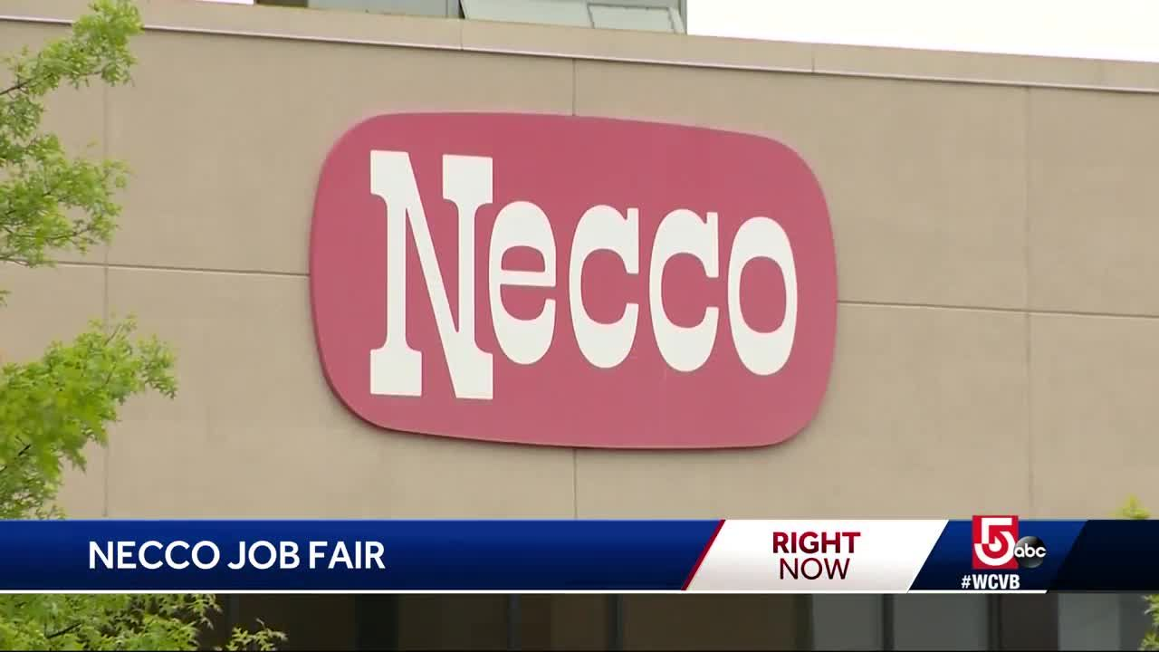 job fair today for former necco employees
