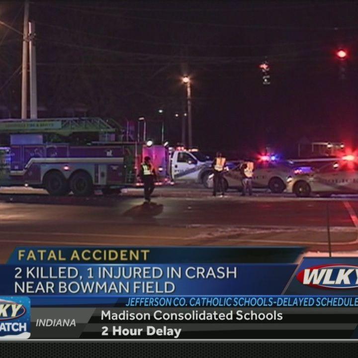 2 Killed In Taylorsville Rd Crash