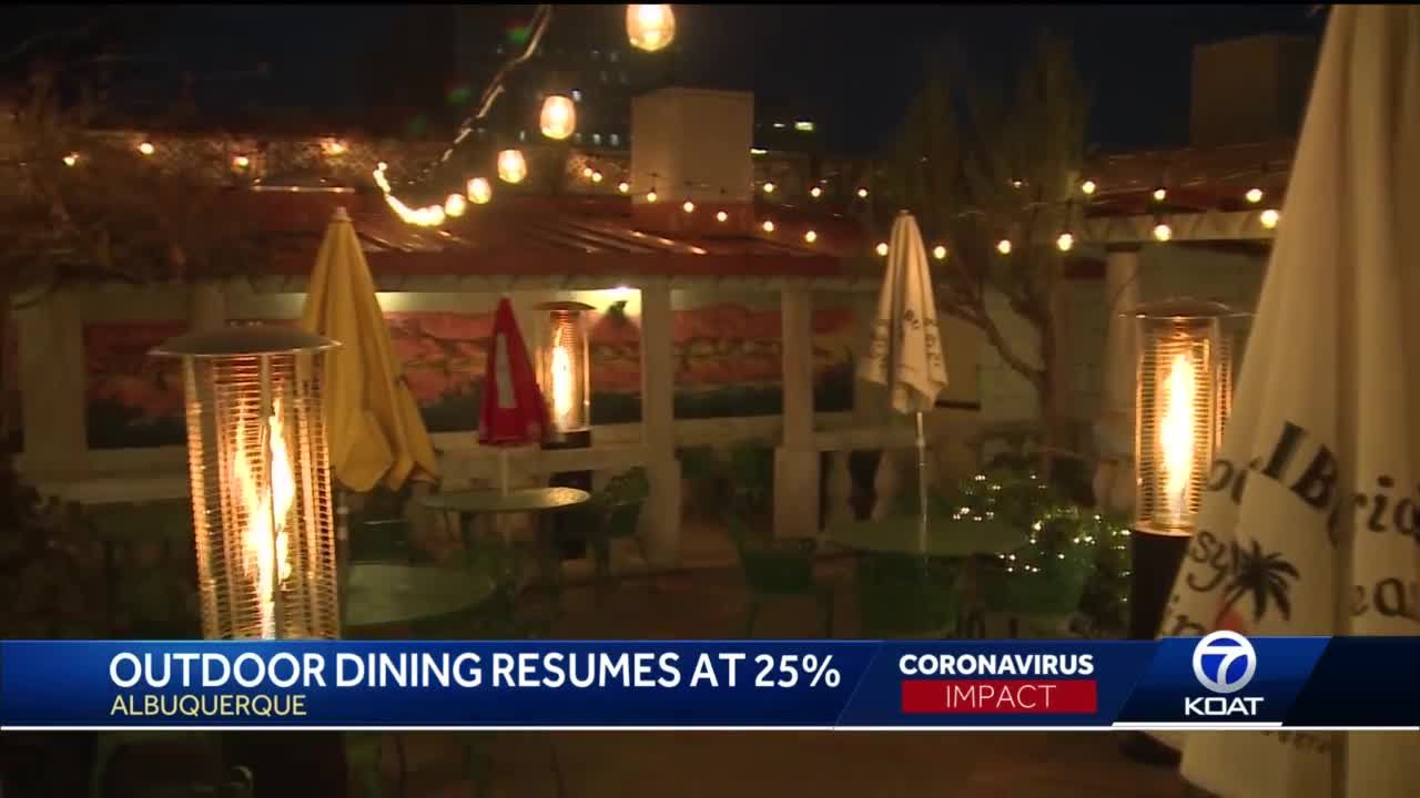 Tent rental company sees business boom as restaurants rush to warm up outdoor patios