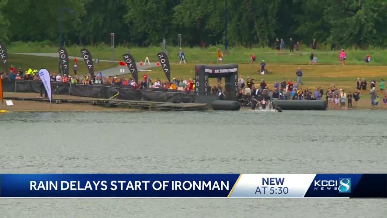 Thousands come to Des Moines for Ironman half marathon