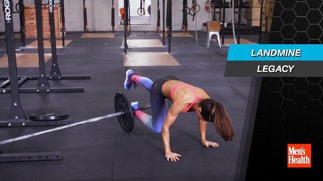 4 Landmine Exercises That Will Chisel Your Entire Body