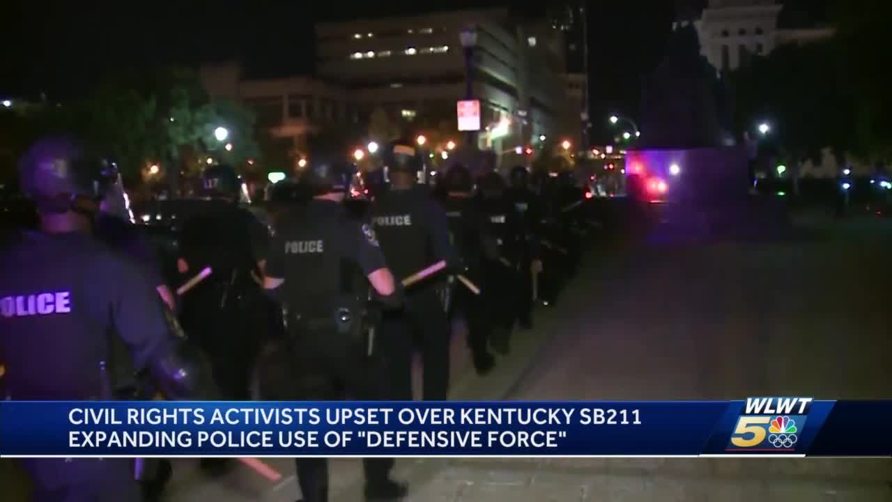 Kentucky bill would make it a crime to insult, taunt a police officer