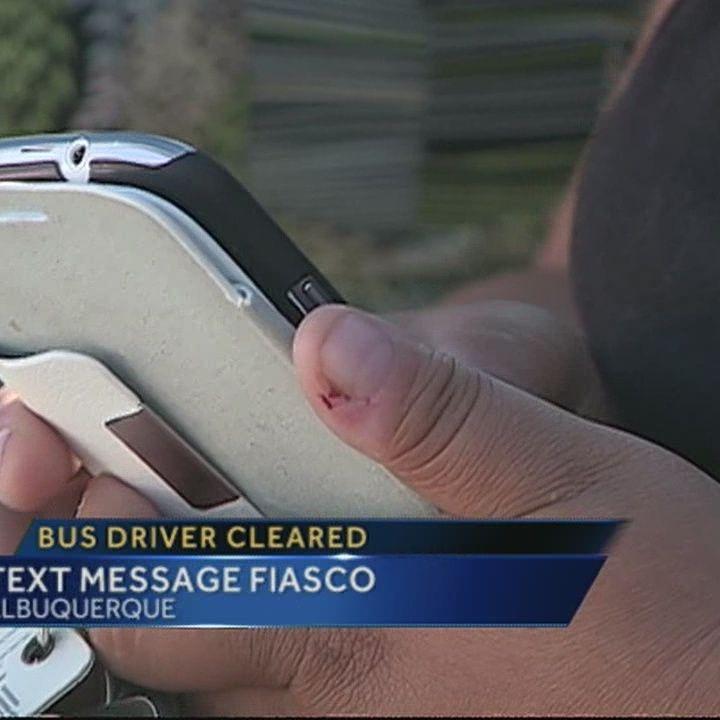 APS: Bus driver didn't send vulgar text