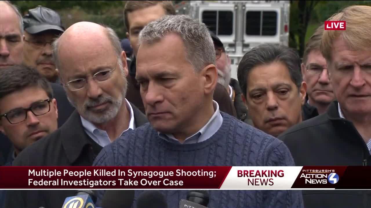 âa Very Horrific Crime Scene Pittsburgh Synagogue Shooting
