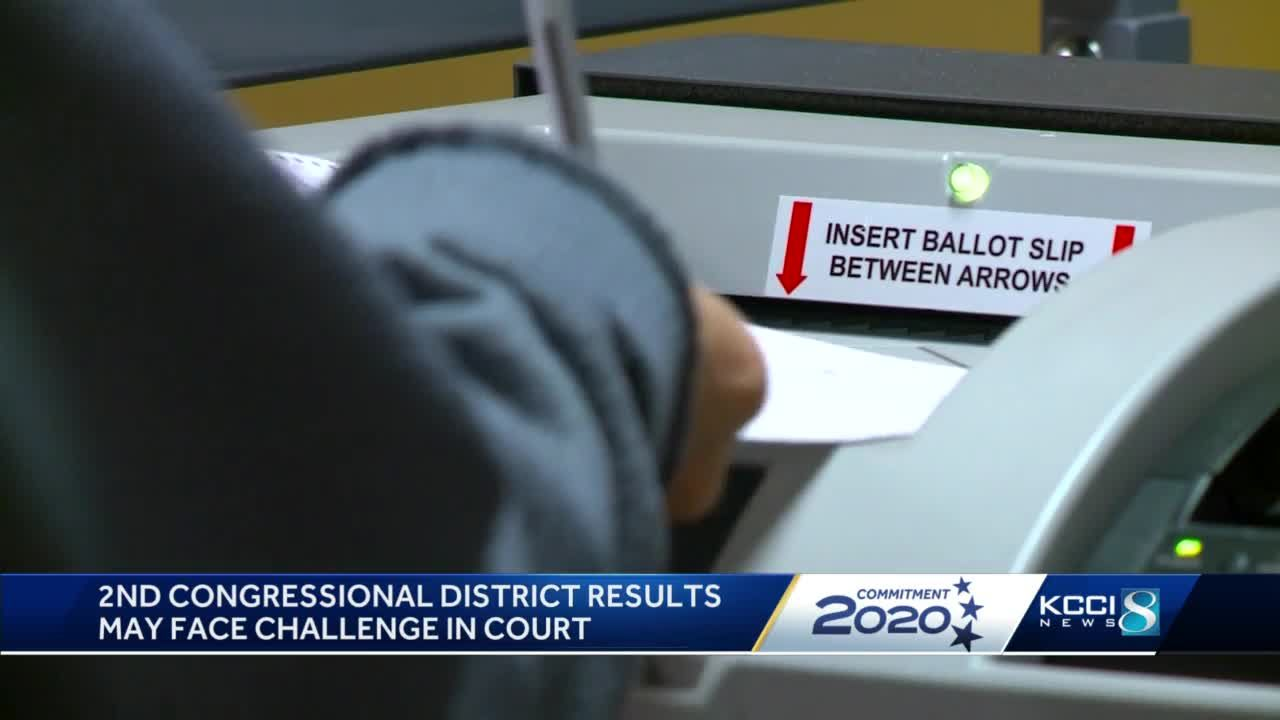 Iowa's 2nd Congressional District race results could be challenged in court