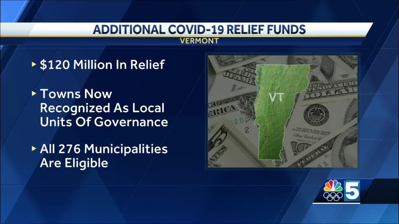 Feds to release $120M in COVID-19 funds for Vermont towns