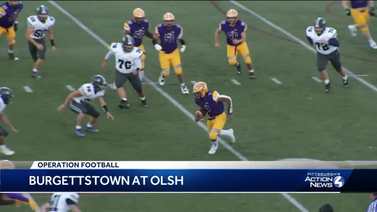 OLSH shuts out Burgettstown