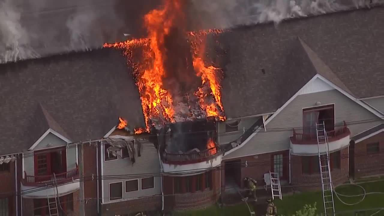 Fire rips through Southern Baptist Theological Seminary apartments