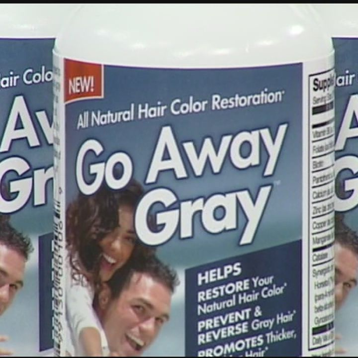 Go Away Gray Pill Helps Restore Hair Color