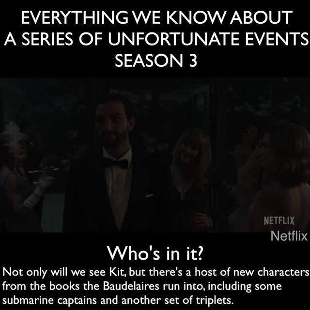 A Series of Unfortunate Events season 3 - release date, cast