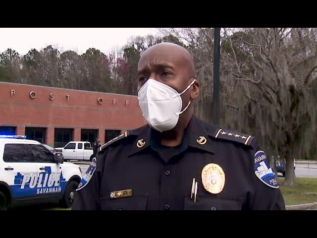 Savannah police chief on deadly crash at post office
