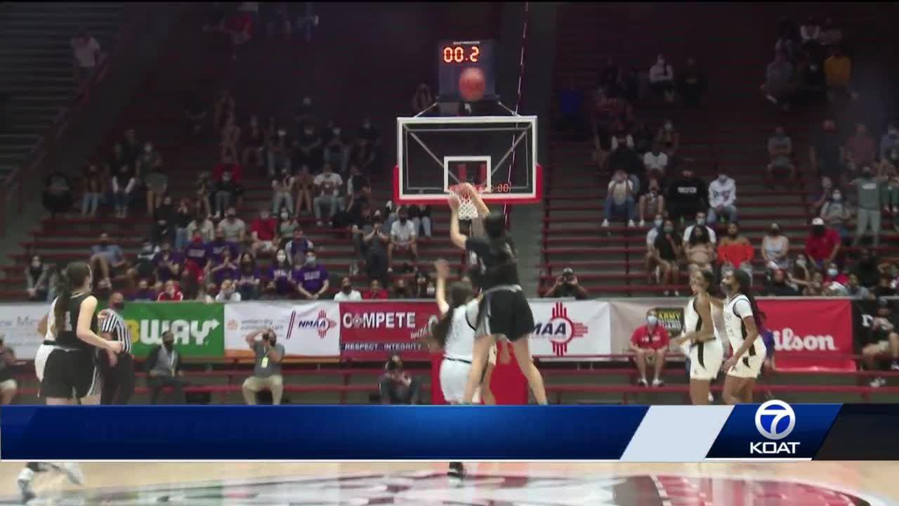 Volcano Vista girls basketball buzzer beater gaining national attention