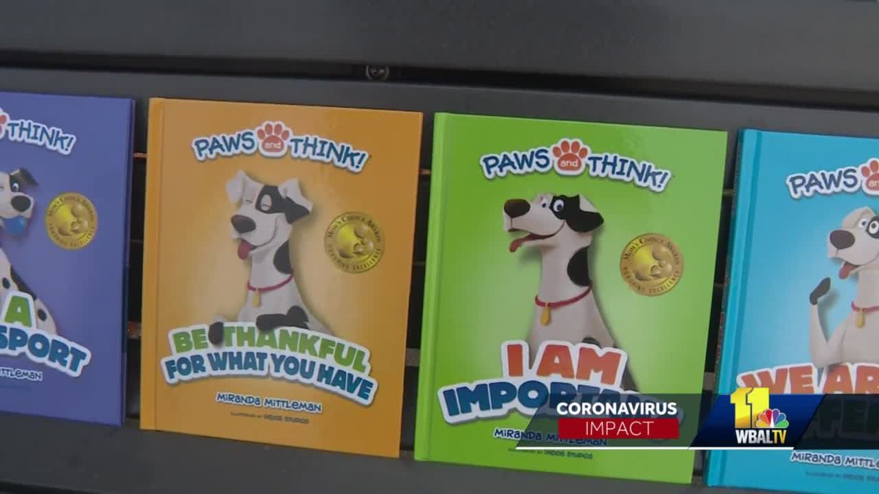 Rescue dog at center of books that help kids learn life lessons