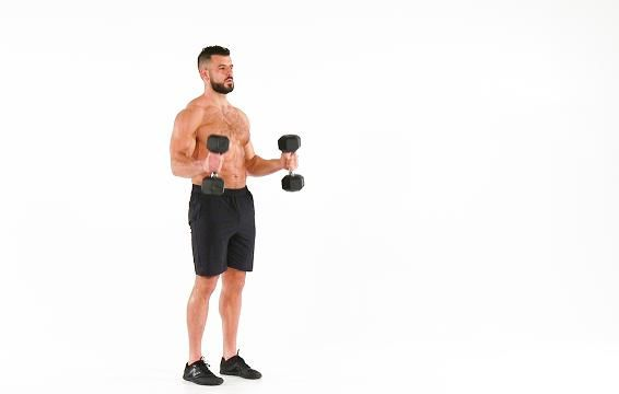 11 Ways to Sculpt a Rock-Solid Upper Body With Just Two Dumbbells